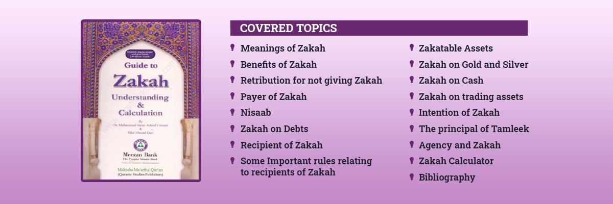 Zakah book